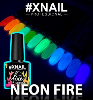 NEON Fire (люминисцентный гель-лак)